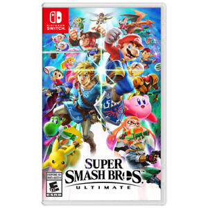 Brand New Super Smash Bros Ultimate for Switch