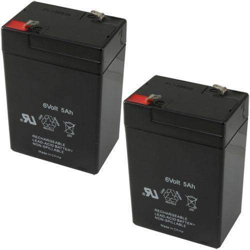6 volt rechargeable battery ebay. Black Bedroom Furniture Sets. Home Design Ideas
