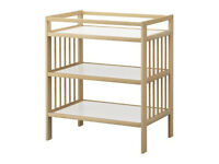 Birch IKEA Gulliver Changing Table