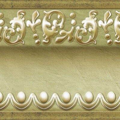 Home Depot Molding - Gold Green Wallpaper Border Scroll Molding Moulding Home Depot Interior Ideas