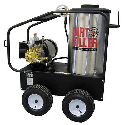 Dirt Killer Professional 3000 PSI (Electric-Hot Water) Pressure Washer (220V ...