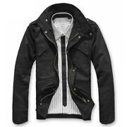 Mens Slim Fit Coat Jacket