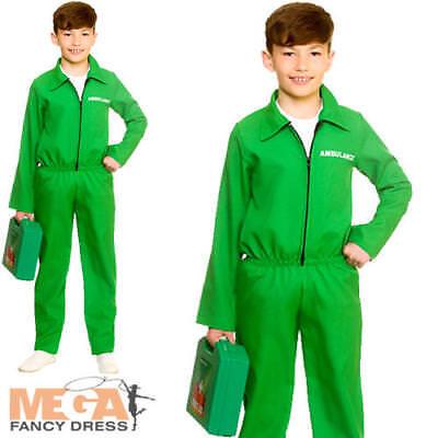 Paramedic Kid Fancy Dress Medical Doctor ER Uniform Boys Girls Childrens Costume](Paramedic Costume)