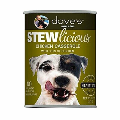 Daves Pet Food 685038116956 13 Oz Stewlicious Chicken Casserole - Case Of 12