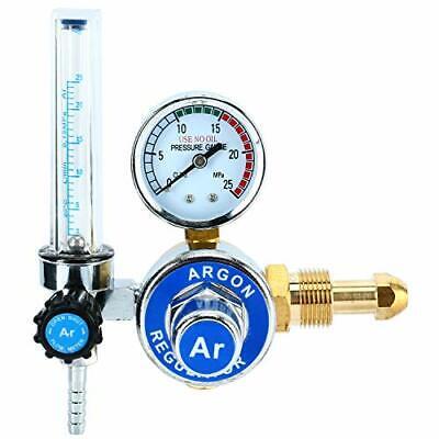 Argon Co2 Gas Mig Tig Flow Meter Weld Regulator Gauge Welder Cga580