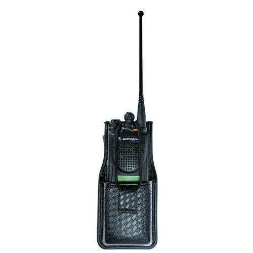 Bianchi 22113 Black 7914S Basketweave Accumold Elite Swivel Radio Holder