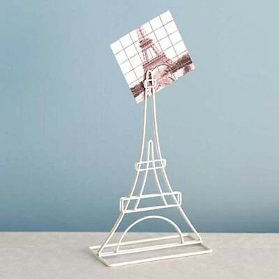 Design Ideas Architecture Memo Clip White Wire Eiffel Tower Paris France 3102811