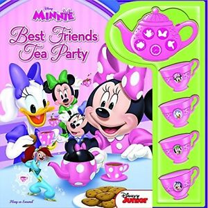 Minnie Mouse Tea Set Electronic Gift Book (Tea Set Mini Deluxe Sound Book) by Di