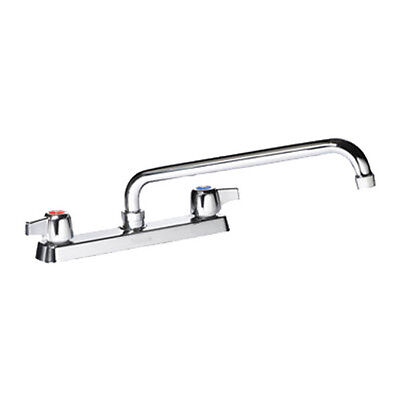 Krowne Metal 13 816L Commercial Deck Mount Faucet 16  Swing Spout