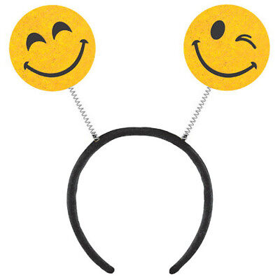 - EMOJI LOL DELUXE HEADBAND ~ Birthday Party Supplies Favor Toy Costume Dress Up
