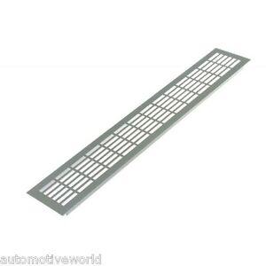 Aluminium air vent grille 480mm x 60mm meta wall - Grille de ventilation exterieure aluminium ...