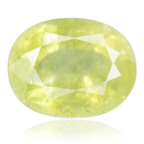 Tsavorite Family Garnet 7.59ct yellowish green color 100% natural earth mined