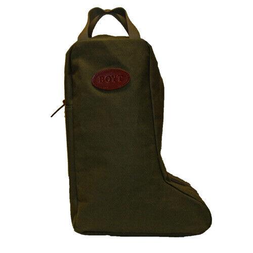 BOYT HARNESS WAXED CANVAS BOOT CARRY BAG 12.5″ X 8.5″ X 17.5″ (L X W X H) 12051
