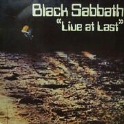 Black Sabbath Live at Last LP
