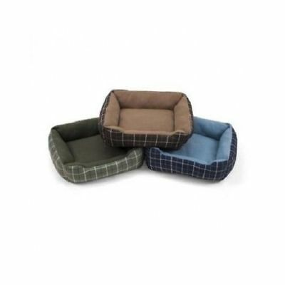 Dog Pet Bed Durable Cuddler Cushion Soft Washable Kennel Pad Cozy Gray
