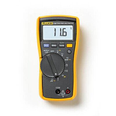 Fluke 116 True-rms Acdc Hvac Dmm Temperature Microamp Measurements