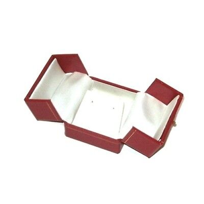 48 Red Double Door Earring Boxes Pendant Boxes Jewelry Display Gift Boxes