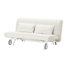 Two-seat sofa-bed