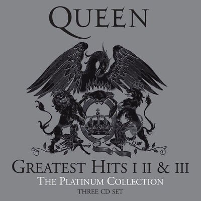 Queen : Greatest Hits I II & III: The Platinum Collection CD Remastered Album 3