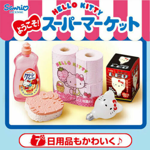 Re-Ment Hello Kitty Welcome! Supermarket #7 Miniature w/ Insert Barbie Size