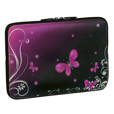 Design Schutzhülle 17,3 Zoll (43,9cm) Notebook Laptop Tasche - butterfly