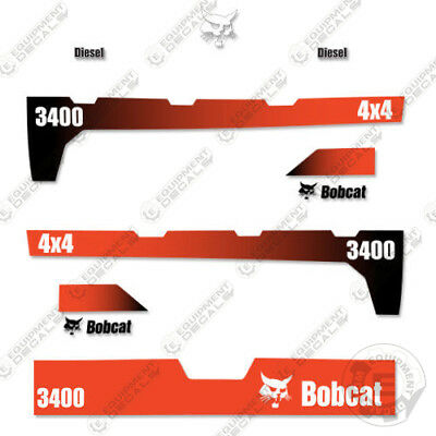 Bobcat 3400 4x4 Utility Vehicle Replacement Decals -