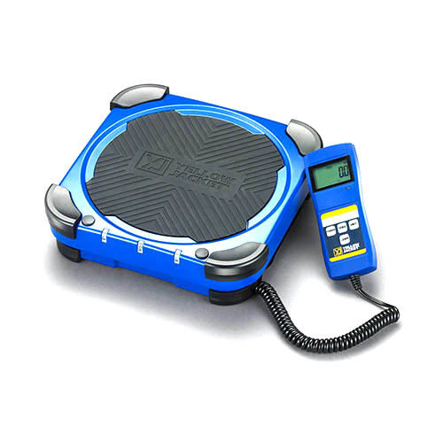 Yellow Jacket 68862 Charging Scale with Carrying Bag, 220 lb. Capacity
