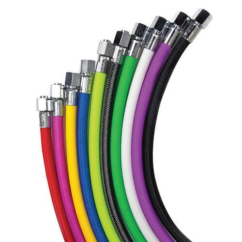 MiFlex Xtreme Low Pressure Braided Hose for Scuba Regulators: Colors & Sizes MLP