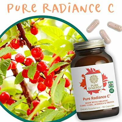 Pure Synergy Pure Radiance C Natural Wholefood Vitamin C 90 Vegetable Capsules 7