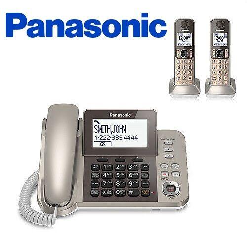 Panasonic KX-TGF352N Dect 6.0+ Corded/Cordless Phone System w/2 Handsets