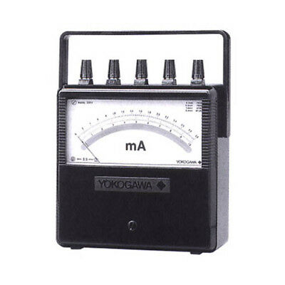Yokogawa 201138 Portable Dc Voltmeter 0.31310 V 1 Ma 1000 V