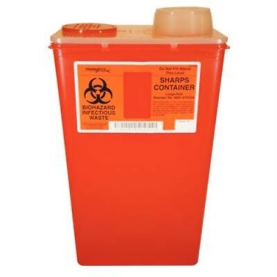 Monoject Large 14 Quart Sharps Disposal Containercovidien Kendall Healthcare
