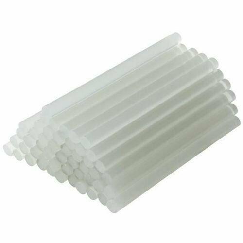 "40 Extra Long Hot Melt Mini Glue Gun Stick 0.27 x 8"" Clear White Wholesale Lot"