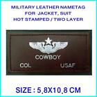 Leather Name Tag