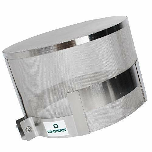 OMPERIO Smart Meter Cover RF-Radiation Shield Guard EMF Protecction Stainlees St