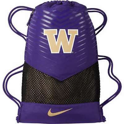 WASHINGTON HUSKIES Nike Vapor Gym Sack Drawstring Bag Backpack - Purple Gold