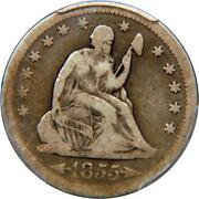 Seated Liberty Quarter Dollar