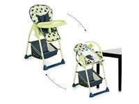 Hauck 2in1 high chair