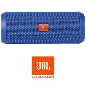 REFURB JBL FLIP 3 BLUETOOTH SPEAKER JBLFLIP3BLUE 128922153 SPLASHPROOF PORTABLE STEREO BLUE