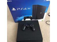 Playstation 4 Pro 1tb + Games + Box
