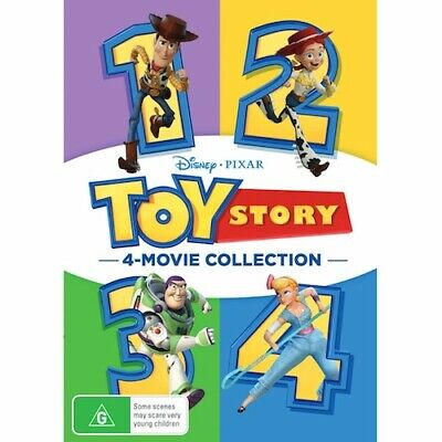 Toy Story 1 2 3 4 (6-Disc Set) DVD Combo Set I II III IV Complete Collection New