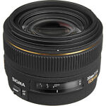 Sigma  EX DC HSM Aspherical 30 mm   F/1.4  Lens For Canon