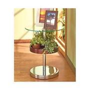 Glass Display Table