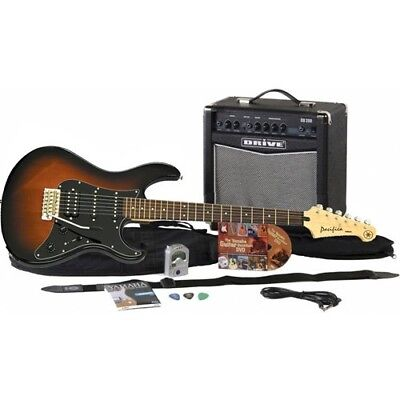Yamaha GigMaker Electric Guitar Starter Pack - Old Violin Su