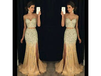 Lush golden bridesmaid/evening dress £100