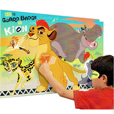 LION GUARD PARTY GAME POSTER ~ Birthday Supplies Decorations Activity Disney
