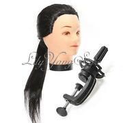 Long Hair Mannequin Head