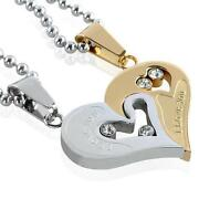 Womens Stainless Steel Necklace