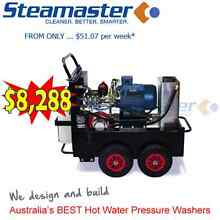 Steamaster 2121F Hot Water Pressure Washer with Stainless Steel City North Canberra Preview