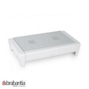 Brabantia Food Warmer With Two Burners White Food Cooking Kitchen Home New